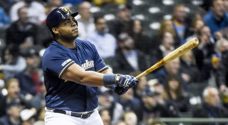 huge selection of b3797 72c14 MLB Trade Deadline: Milwaukee Brewers shop Jesus Aguilar to ...