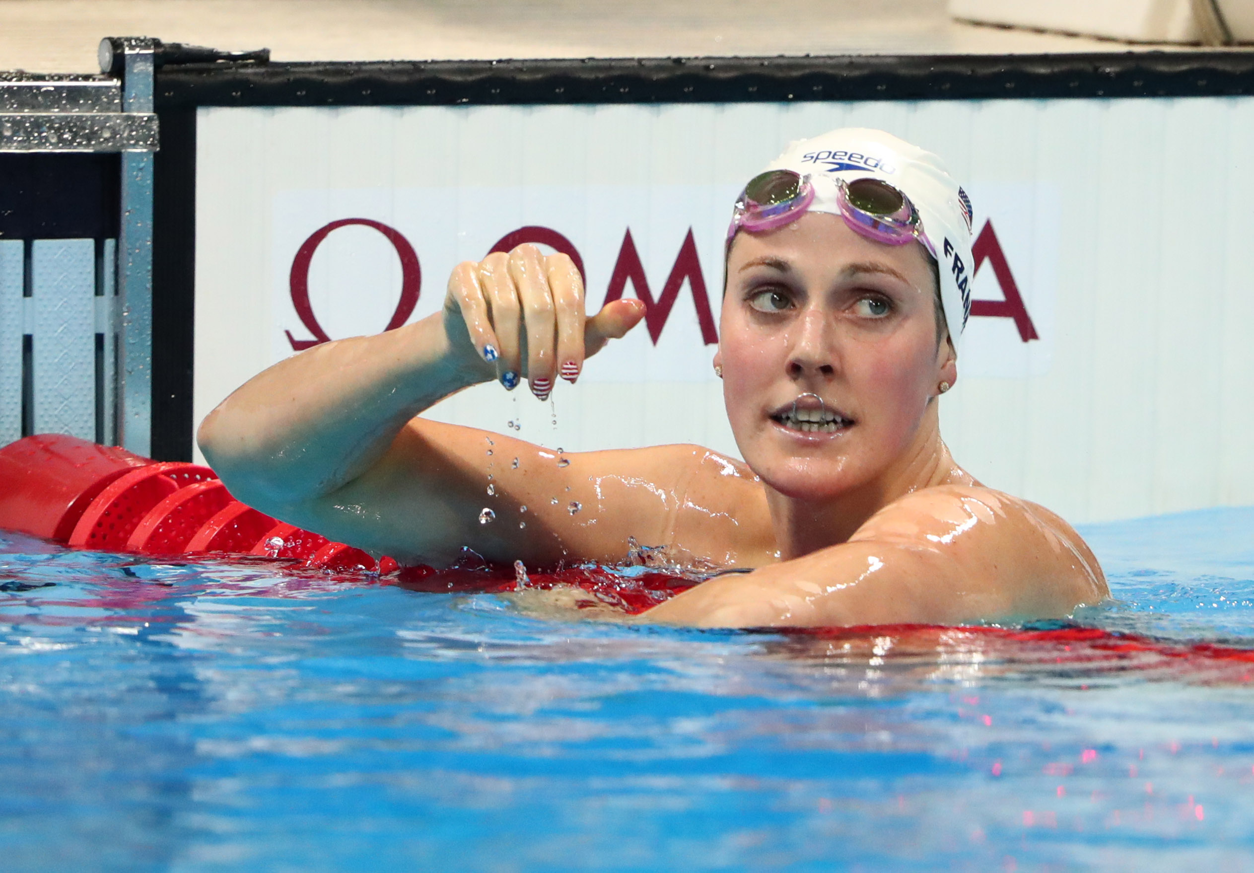 Franklin: I Never Felt More Alone Than Before 2016 Olympics