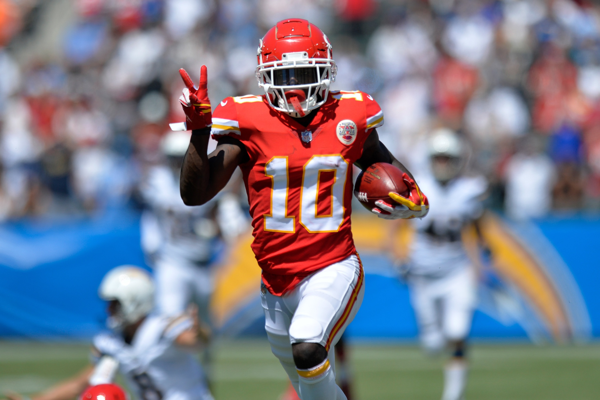 release date 37d44 65da6 Wyche: Not Playing Football Will Be Least Of Tyreek Hill's ...