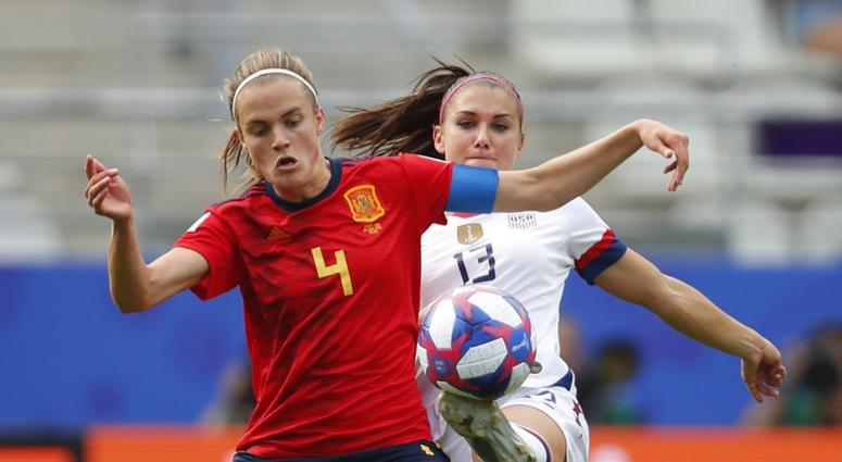 Alex Morgan USWNT Spain World Cup