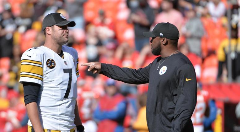 Ben Roethlisberger Mike Tomlin Steelers