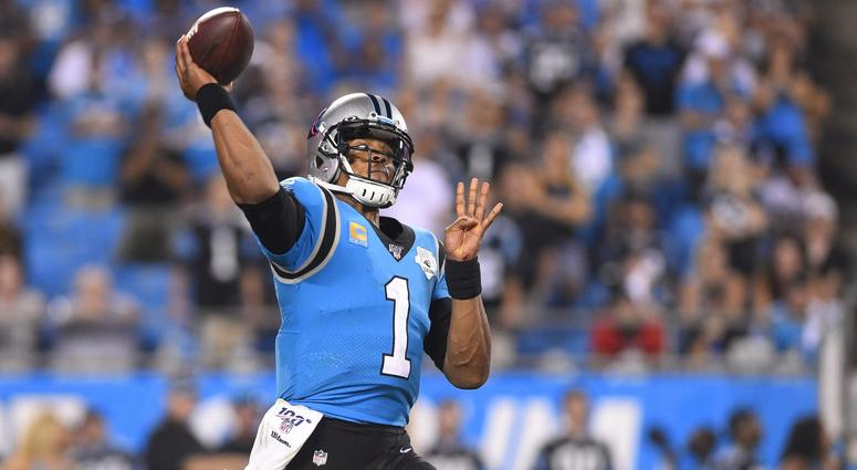 separation shoes c4af9 3a9ec Carolina Panthers May Sit Cam Newton Multiple Weeks | CBS ...