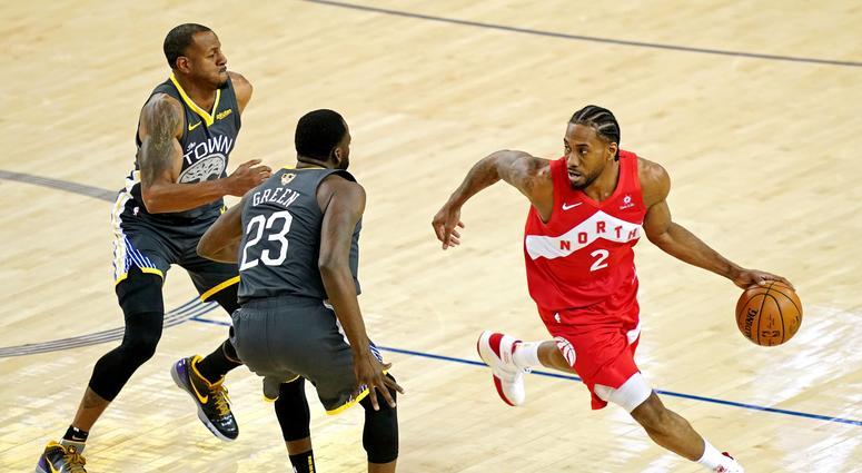 Kawhi Leonard Raptors NBA Finals