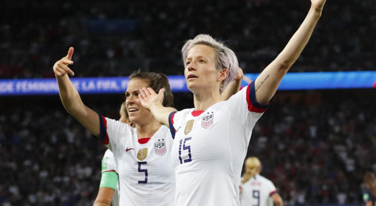 Megan Rapinoe World Cup France