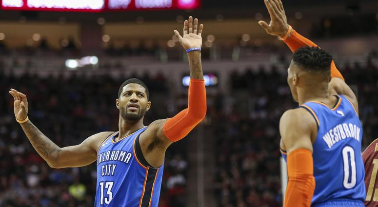 Paul George Russell Westbrook Thunder