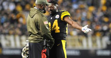 Antonio Brown Mike Tomlin Steelers