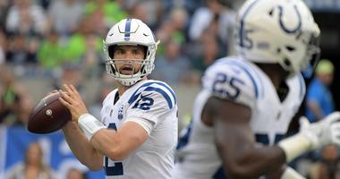 Andrew Luck Marlon Mack Colts