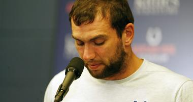 Andrew Luck Colts Press Conference
