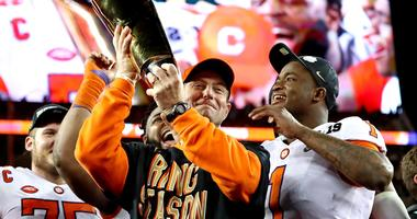 Dabo Swinney Clemson Alabama National Championship