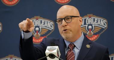 David Griffin New Orleans Pelicans