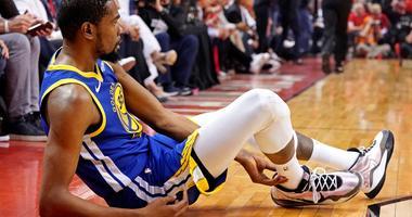 Kevin Durant NBA Finals Torn Achilles