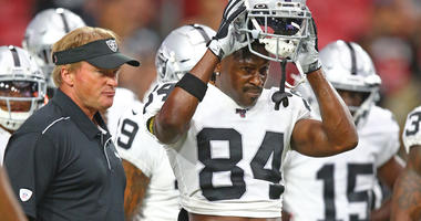 Jon Gruden Antonio Brown Raiders
