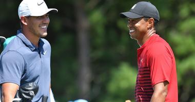 Brooks Koepka Tiger Woods
