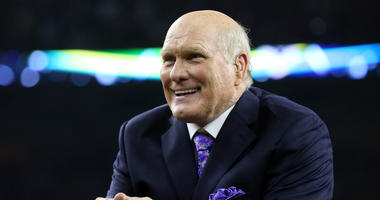 Fox Sports analyst Terry Bradshaw after the New England Patriots beat the Atlanta Falcons during Super Bowl LI at NRG Stadium