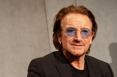 U2 rock band frontman Paul David Hewson (Bono Vox)