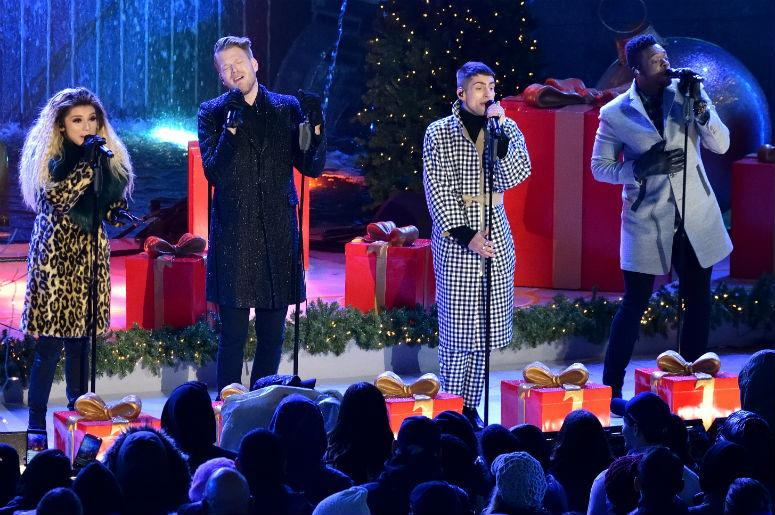Americas Got Talent Christmas.Watch Pentatonix Share Incredible Deck The Halls Video Ahead Of