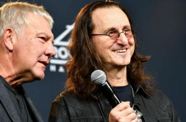 Geddy Lee and Alex Lifeson of Rush