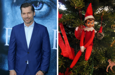 Elf on the Shelf and Nikolaj Coster-Waldau
