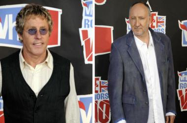 Roger Daltrey & Pete Townshend at the VH1 Rock Honors The Who at Pauley Pavilion at UCLA