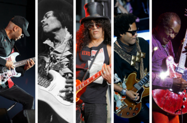 Tom Morello, Jimi Hendrix, Slash, Lenny Kravitz, Chuck Berry