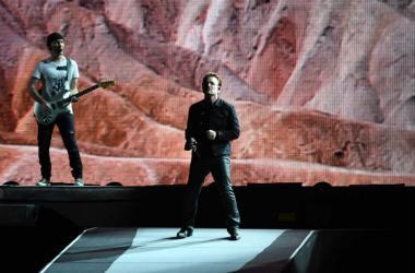 Bono and the Edge of U2