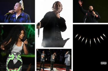 JAY-Z, SZA, Kendrick Lamar, Migos, DJ Khaled, Black Panther