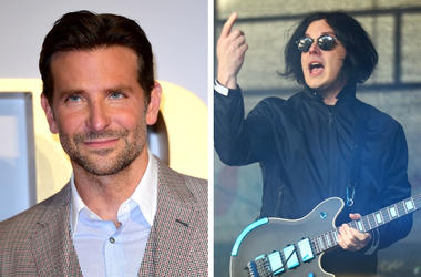 Bradley Cooper and Jack White