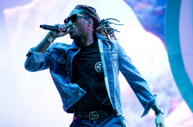 June 10, 2018; Manchester, TN, USA; Future performs at the Bonnaroo Music and Arts Festival.