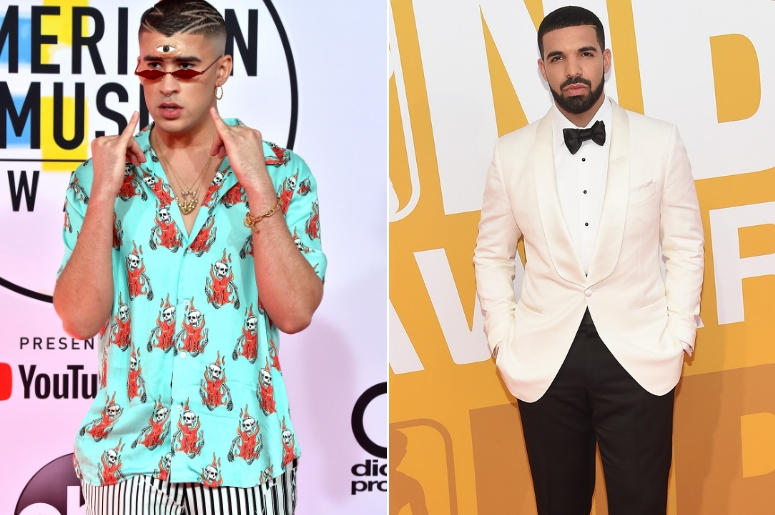 Bad Bunny And Drake