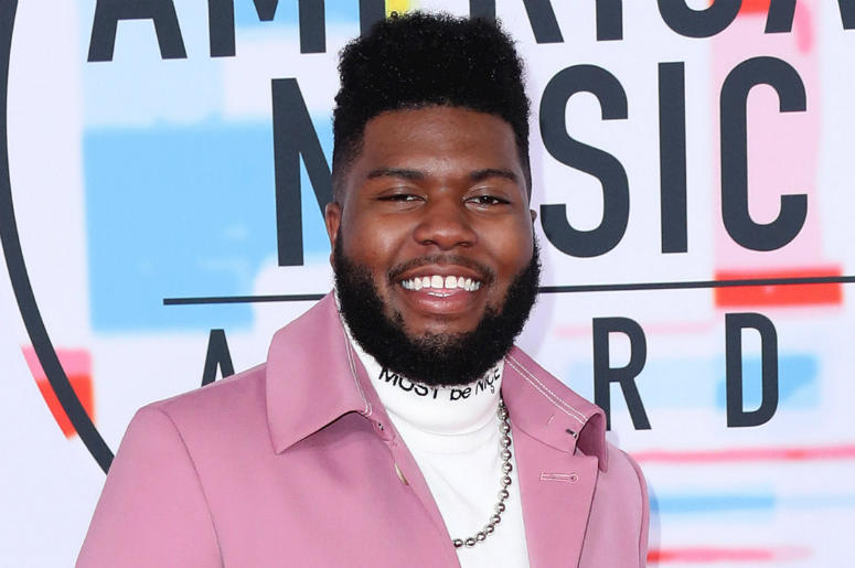 Khalid at the 2018 American Music Awards at the Microsoft Theatre on October 9, 2018 in Los Angeles, California.