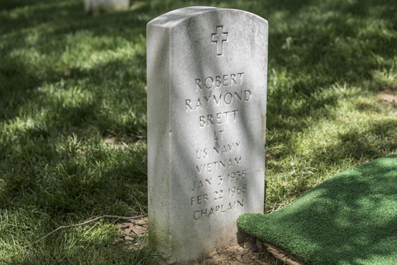 Gravesite of Father Robert Brett