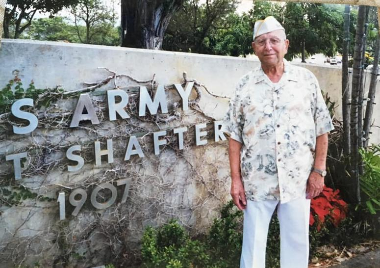 Joseph Iscovitz at Fort Shafter