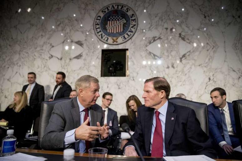 Senators Lindsey Graham and Richard Blumenthal