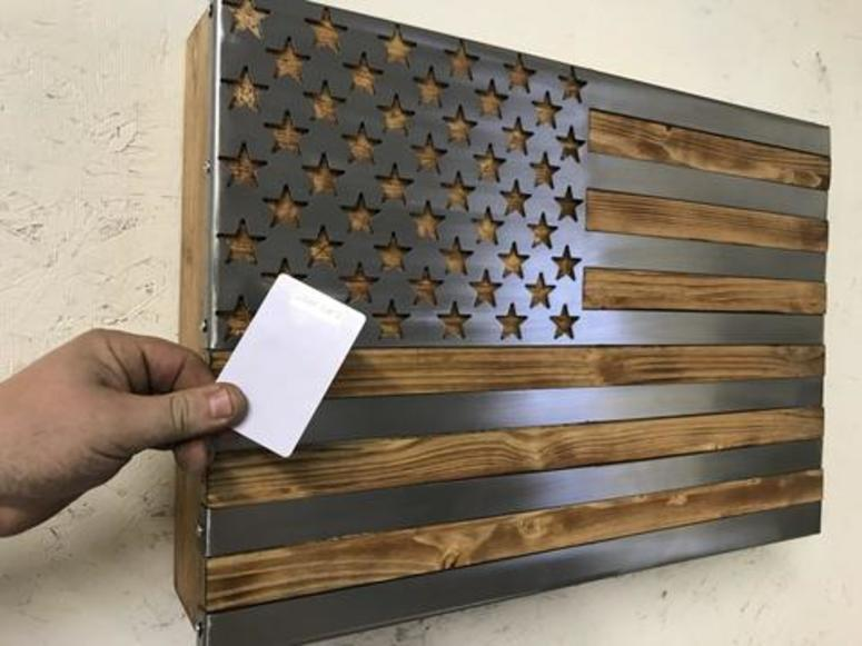 A gun cabinet for true patriots | Connecting Vets