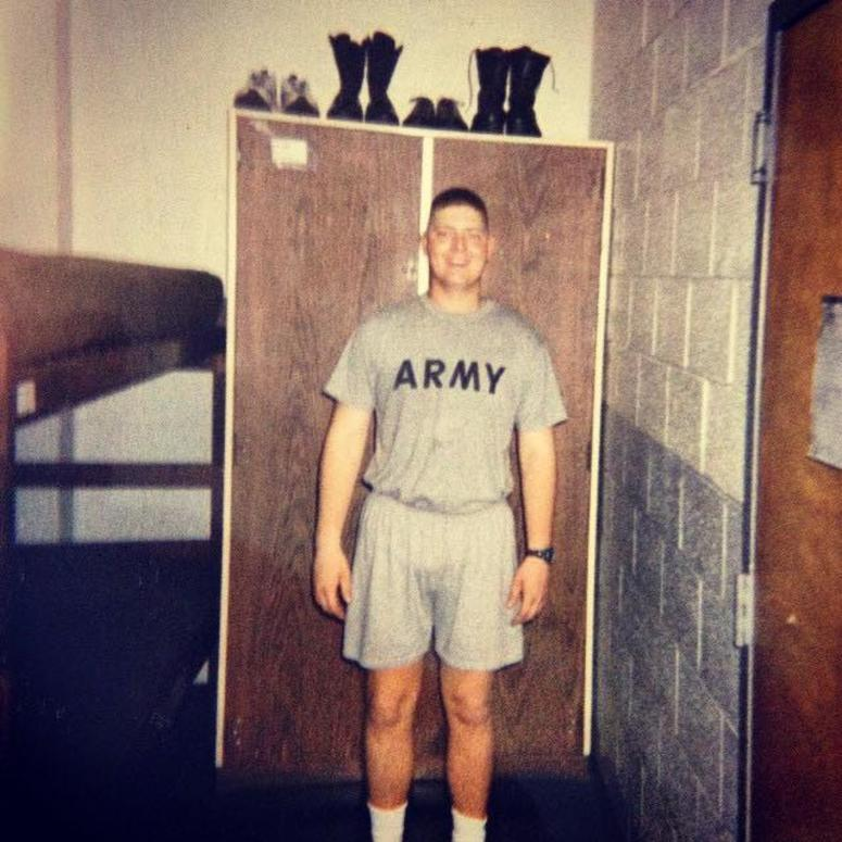 Army veteran Del Hall is down over 26 pounds on an all-beer diet.