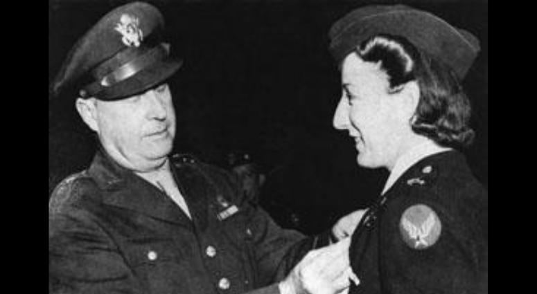 Elsie Ott, US Army