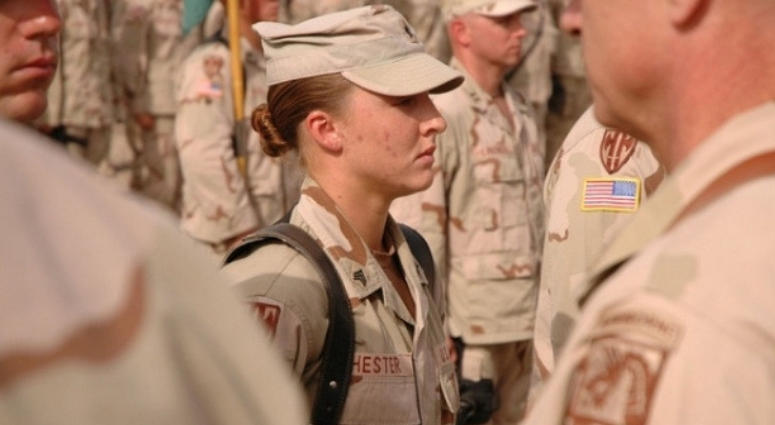 Sgt. Leigh Ann Hester, Women in the military