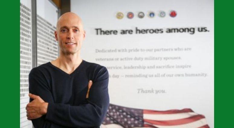 Matt Kress, Starbucks Senior Manager of Veteran and Military Affairs
