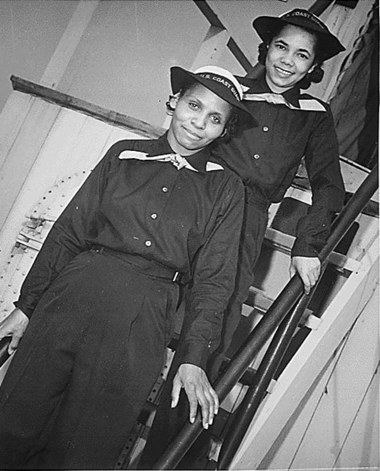 Dr Olivia Hooker, Coast Guard pioneer