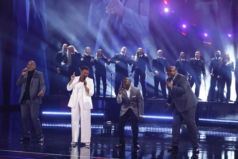 Voices of Service perform on America's Got Talent, August 13, 2019