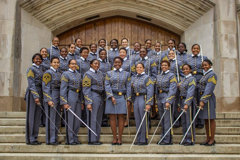 West Point graduates largest class of black women in the history of the United States Military Academy