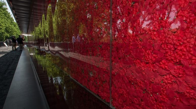 The Poppy Wall of Honor memorial will return to Washington DC for Memorial Day 2019