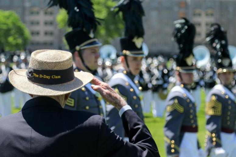 Alumni Wreath Laying Ceremony and Review at the U.S. Military Academy at West Point.