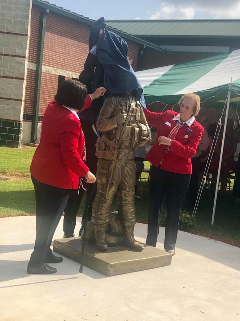 Statue unveiling