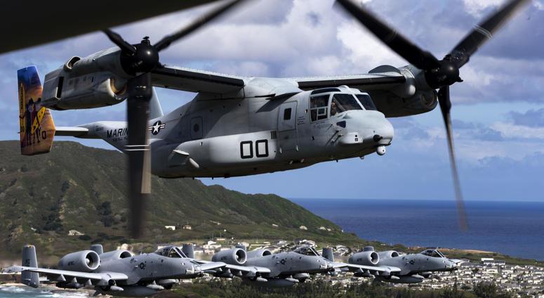 Warthogs take over Hawaiian skies