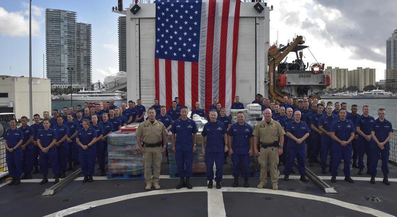Coast Guard Cutter Seneca (WMEC-906) crew