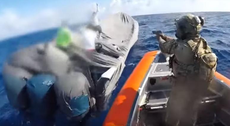 Coast Guard Cutter Robert Ward crew intercepts suspected