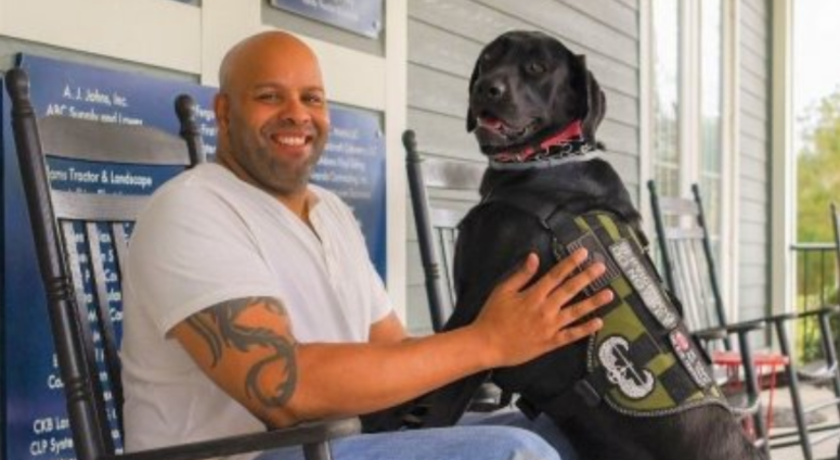 Canine program helps Soldier cope with trauma
