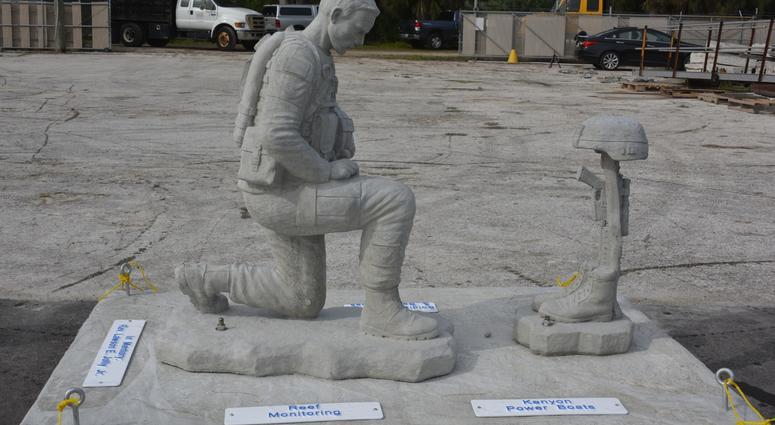 Underwater Veterans Memorial Built In Florida Circle Of