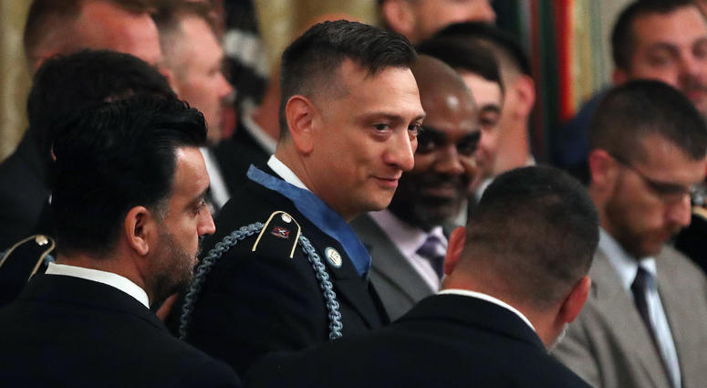 U.S. Army Staff Sgt. David Bellavia, Medal of Honor courted by GOP to run for Congress